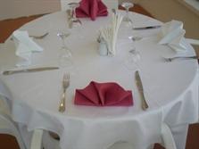 Resim Restaurant Masa örtüsü